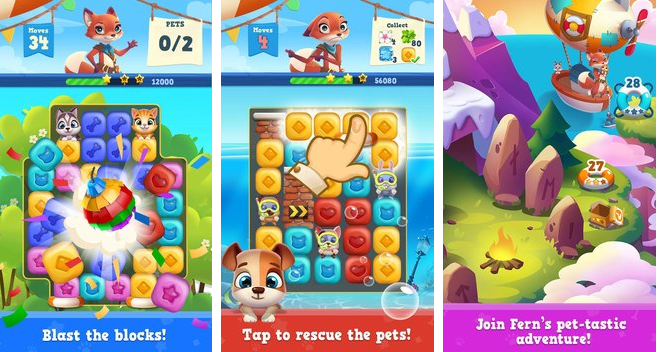 Pet rescue saga free download for mobile